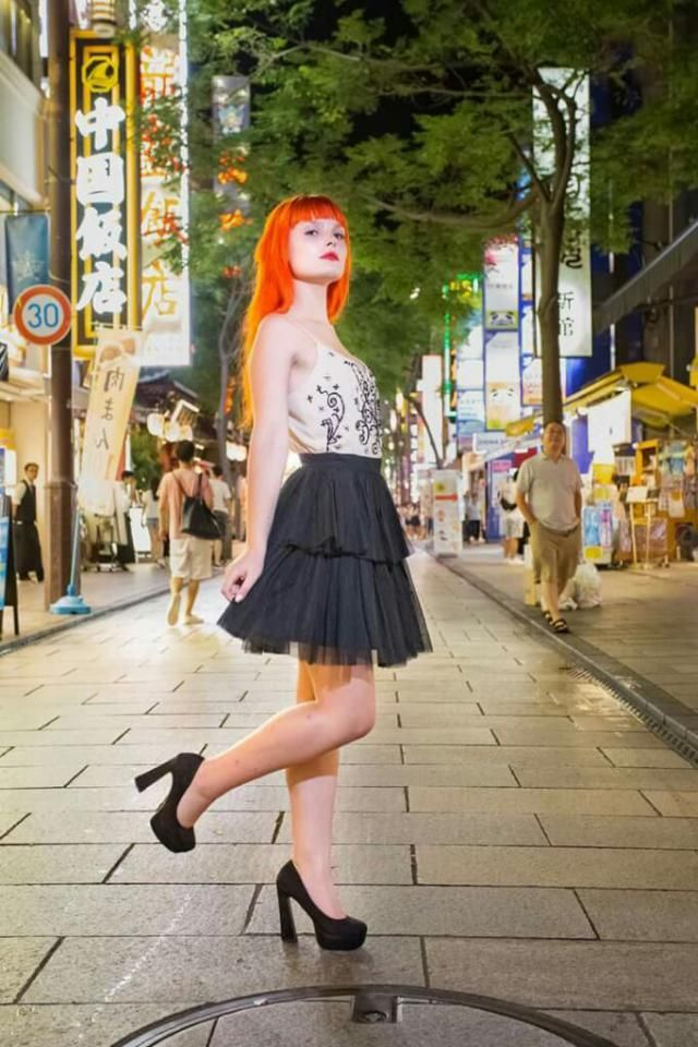 I want to go back to Japan, where this picture was taken, in Chinatown, Yokohama. I just loved that place, it …