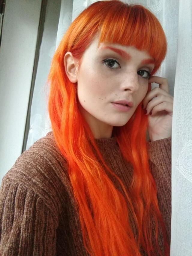 Mermaid hair and freckles