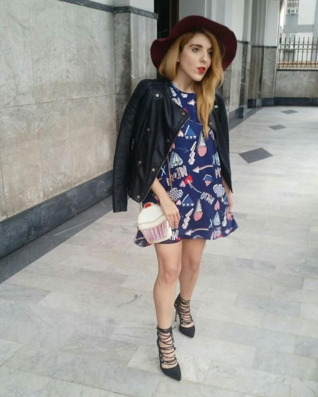 A romantic and casual outfit