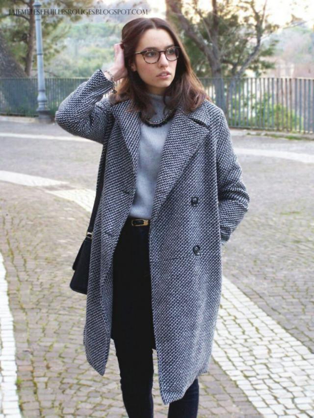 Cozy wool coat!
