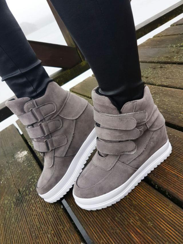 Grey boots ;) i love it
