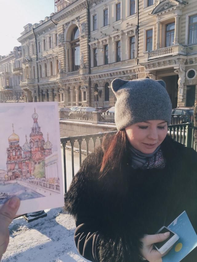 I love Saint-Petersburg (Russia) ❤