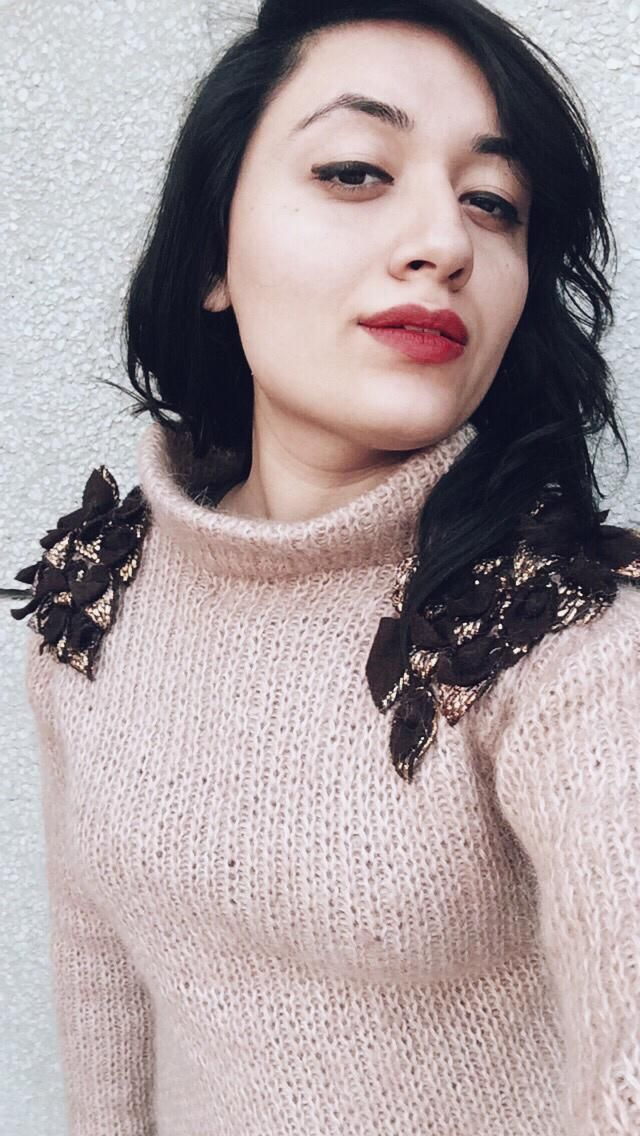 Patchwork knitwear had my heart this winter season!