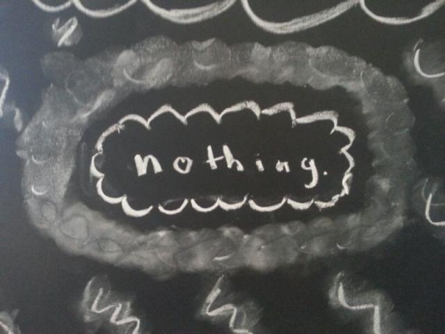 chalkboard aesthetic