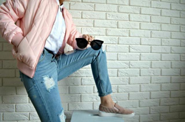 love my new jeans!!    modaidekoracje.blogspot.com