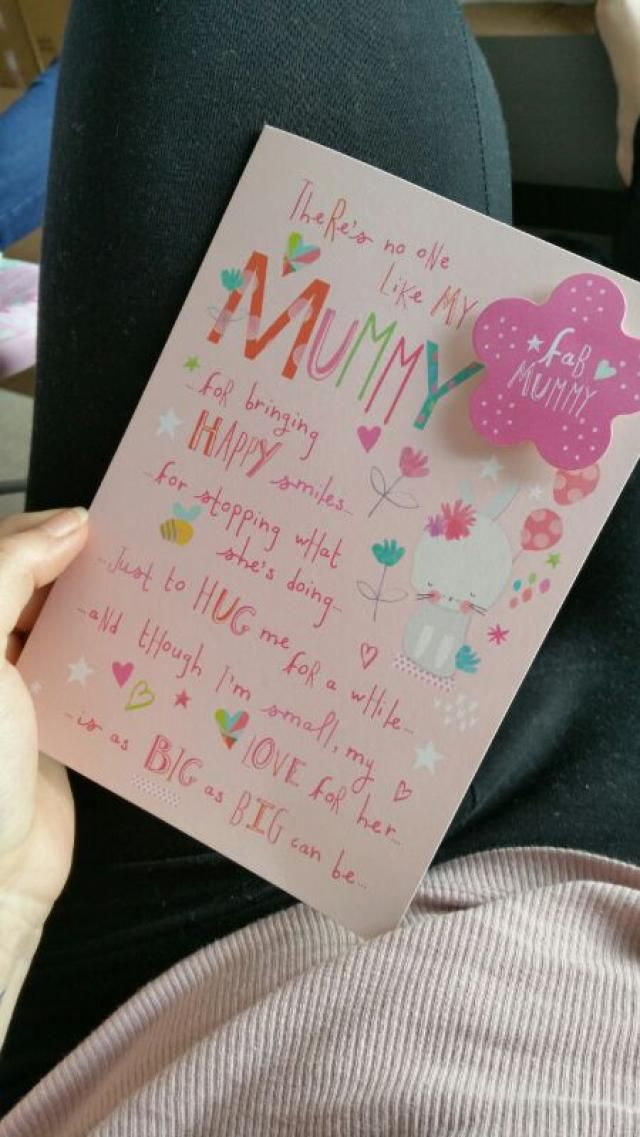 yesterday  was my first mother day (in uk) <3 <3 <3