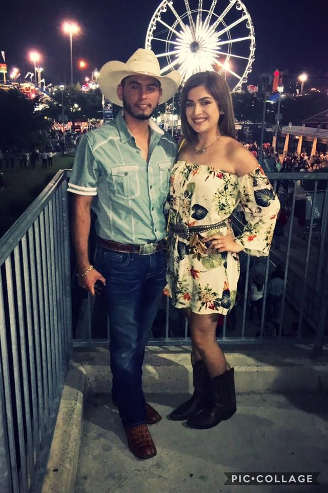 Rodeo fun with my love and my zaful dress