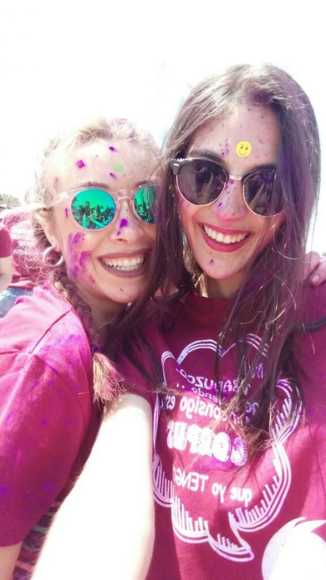 funny day at holy colour party