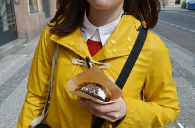 my fav yellow raincoat