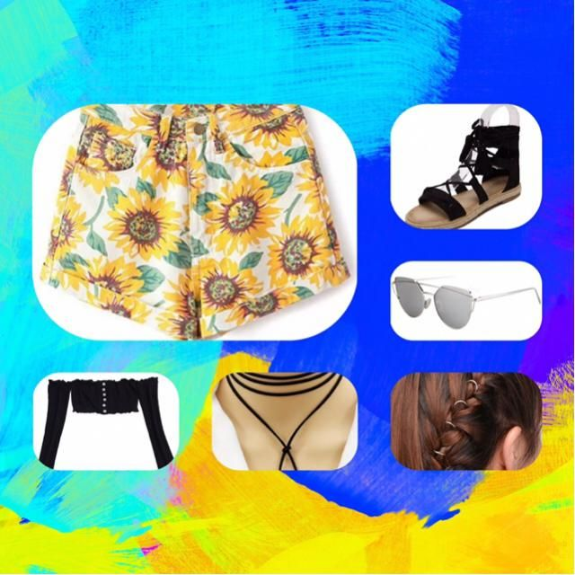 Great outfit for festivals or just to a trip for the beach.