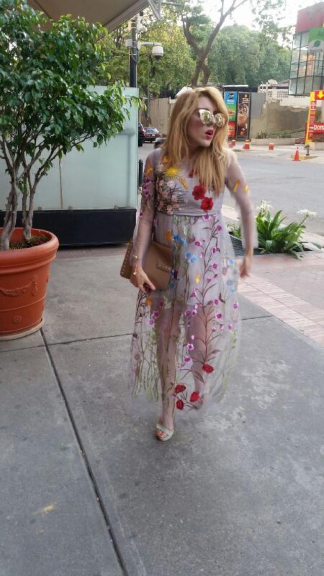 love dress floral print I like and you