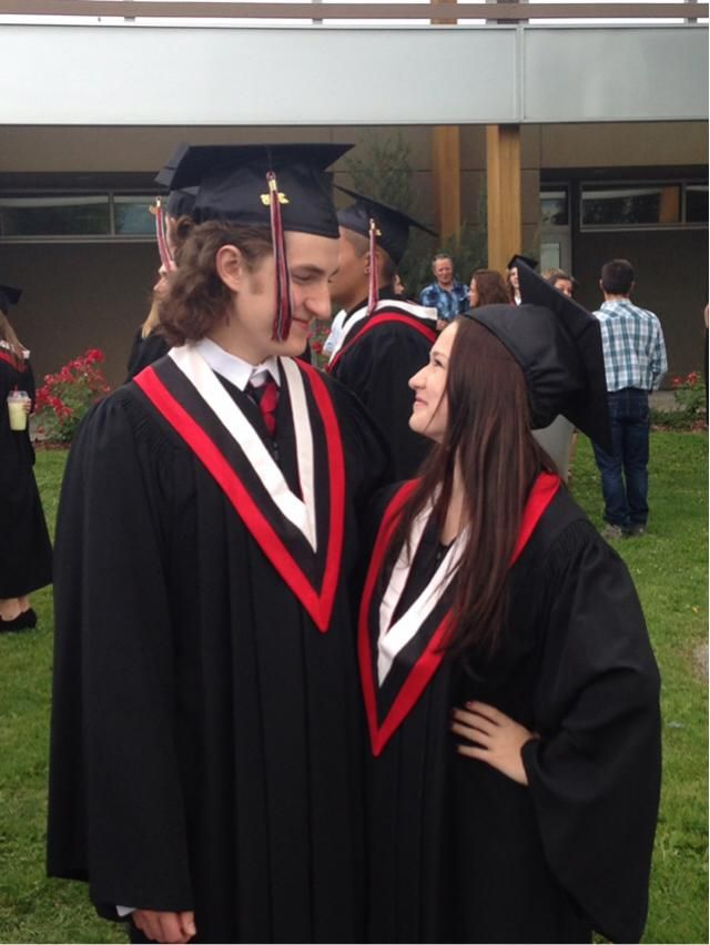 It's been a year since a graduated and I'm so beyond lucky to have done all this with my best friend