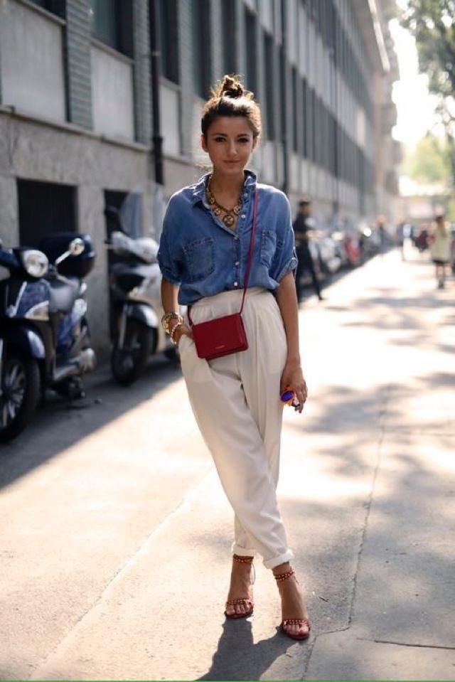 Small red bag is cue summer trend... Do you like it?