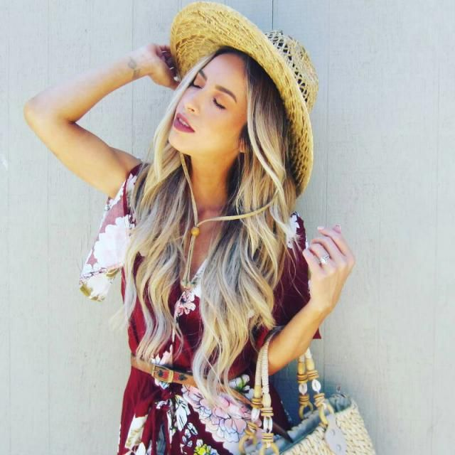 florals and sunshine