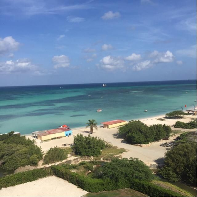 My views in Aruba