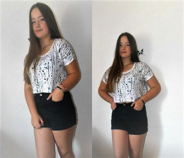love my new black zaful shorts