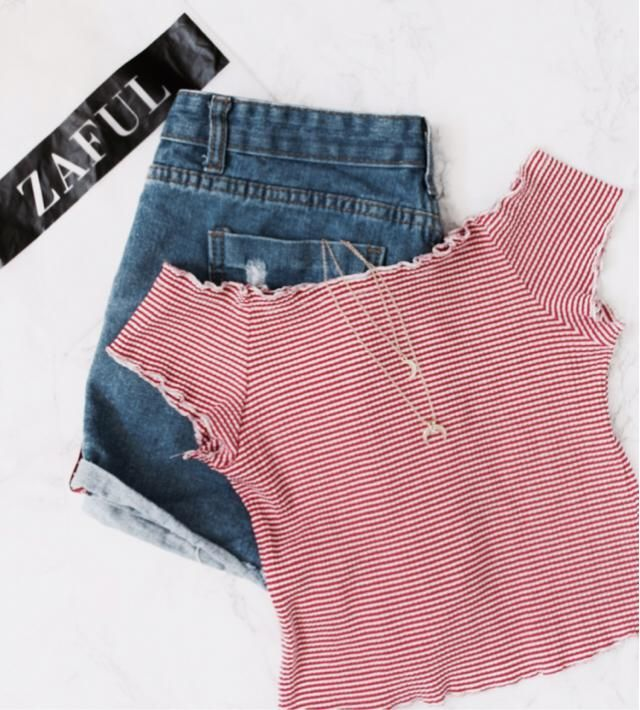 Everything from zaful! Been wearing this outfit combo nonstop!!