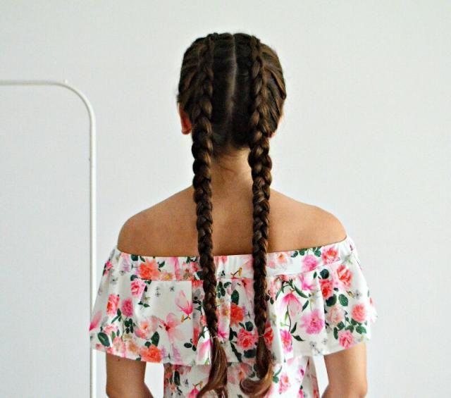 My braids, do you like this type of hairstyle? Check my IG! (modaidekoracje)