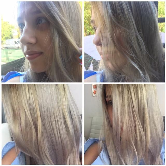 New Hair Style Silver