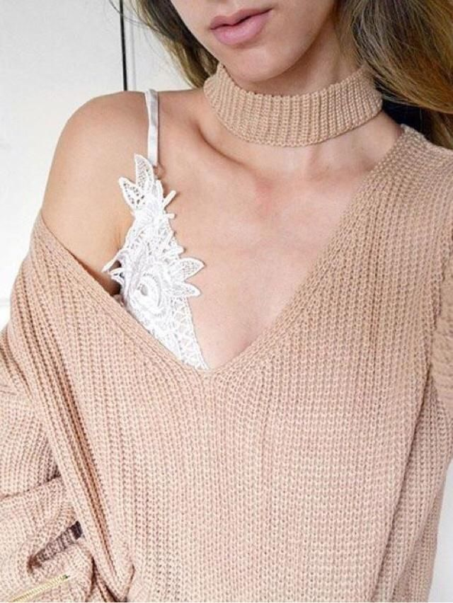 I love this sweater because it&;s perfect for autumn and have colors of autumn