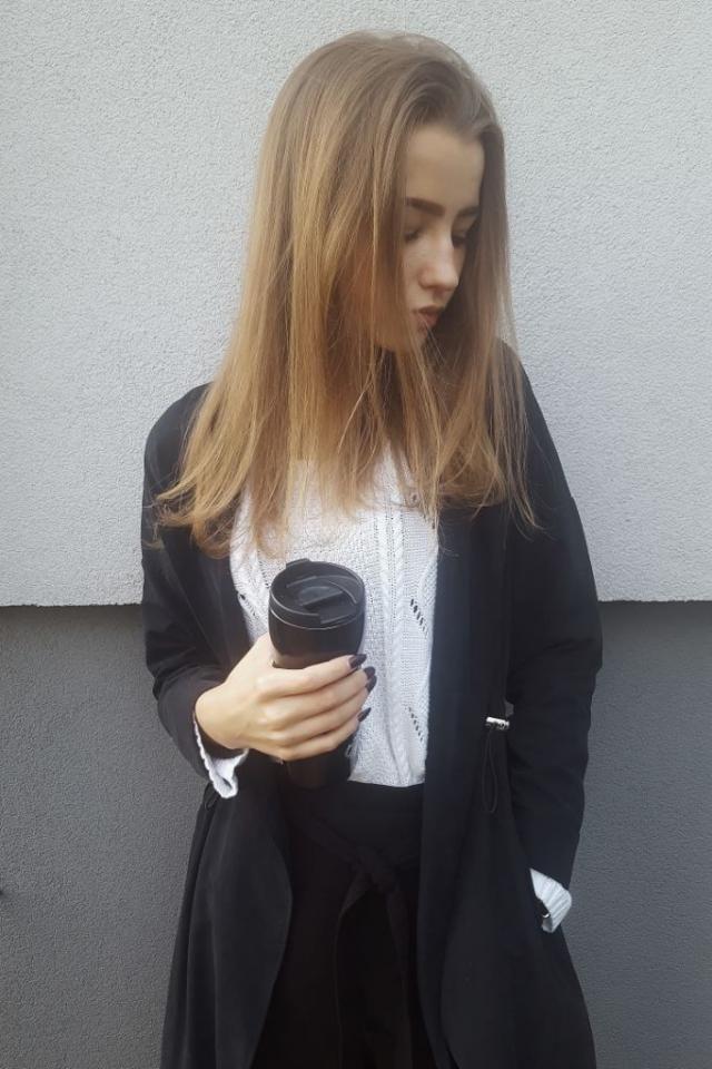 Very elegant coat ♡