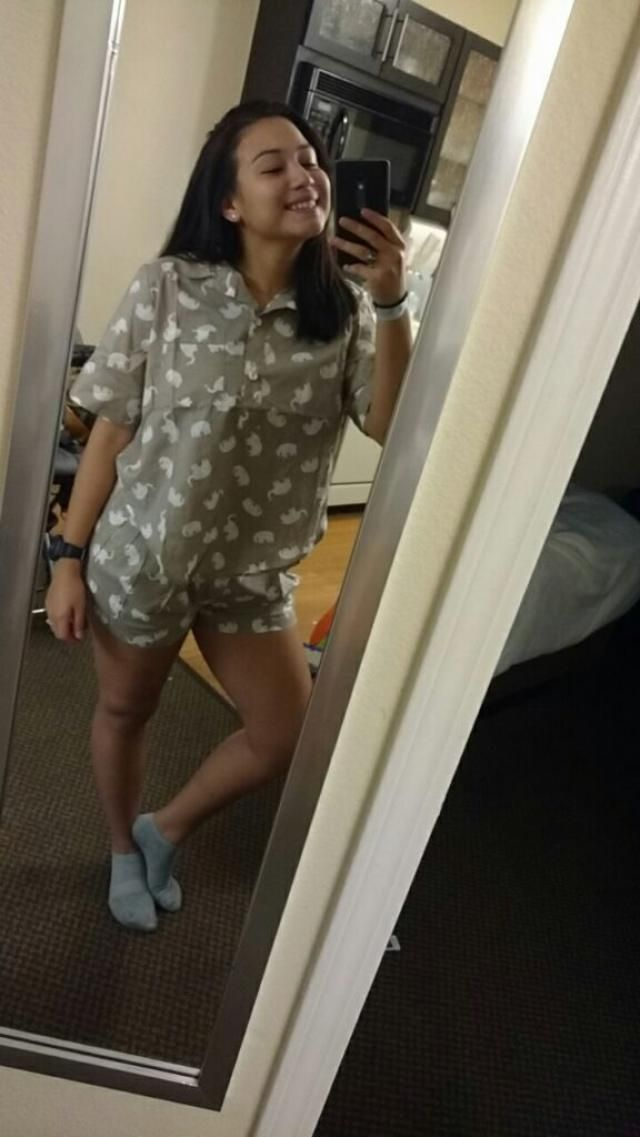 These are the most comfortable PJs I've ever had.! They make me so happy. fresh fabric and true to size. I'm 5'4 and we…