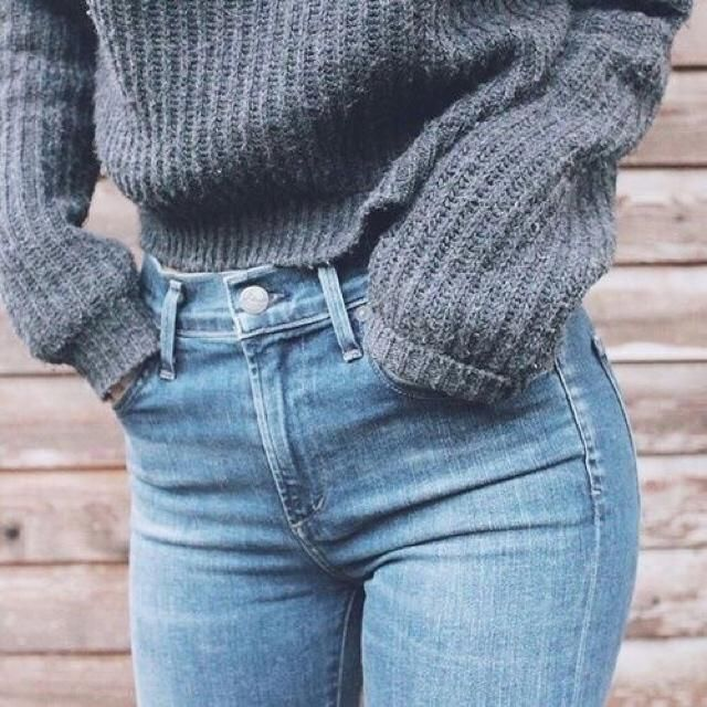 Denim & sweaters