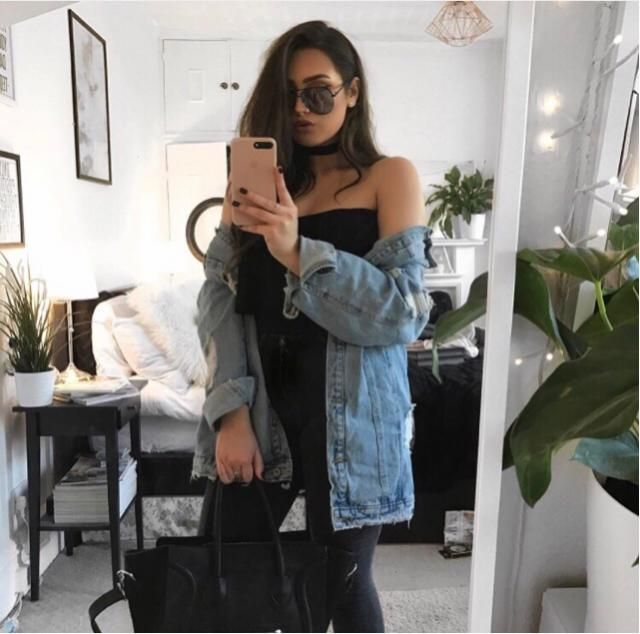 Denim jacket are beautiful and make you look very amazing but keep it relax!
