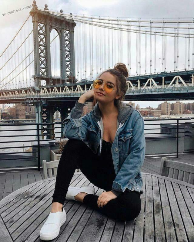 jaqueta jeans com moletom, perfeita