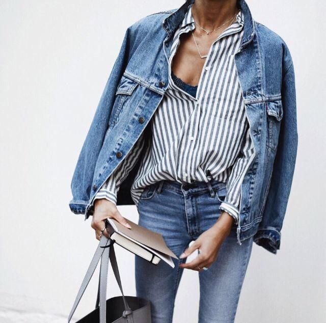 Who is a denim lover? I am!! I love all denim, special denim jackets!❤️