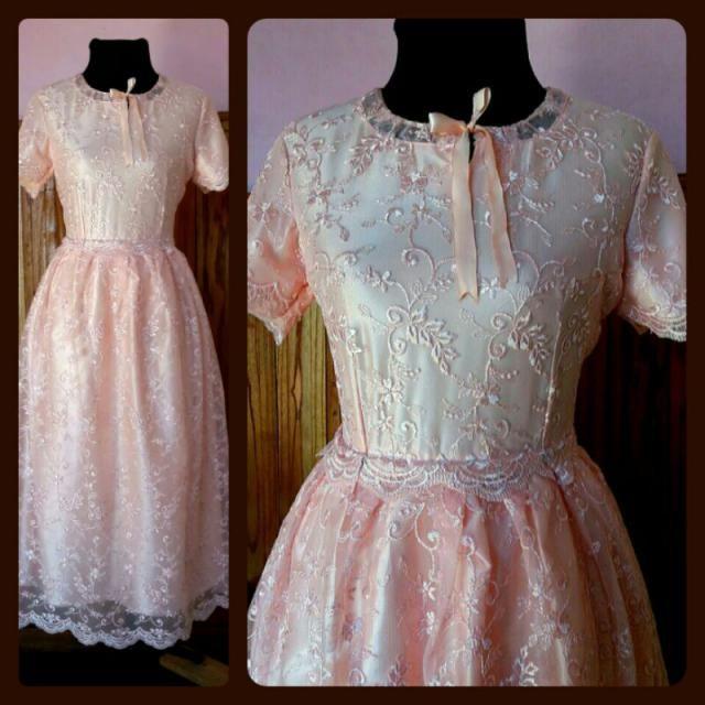 vestido con bordado