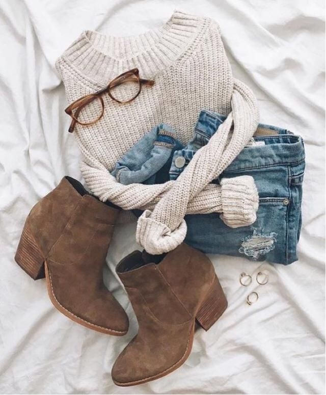 cozy fall outfit, would you wear it?