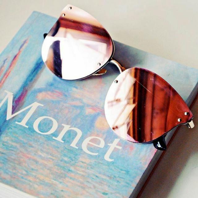 a loja zaful traz uma demana de óculos de sol para proteger seus olhos de qualquer raio e além disso dar aquele be…