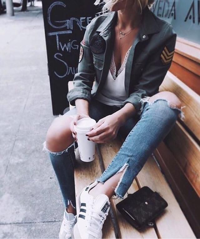 School with ripped jeans, yay or nay?