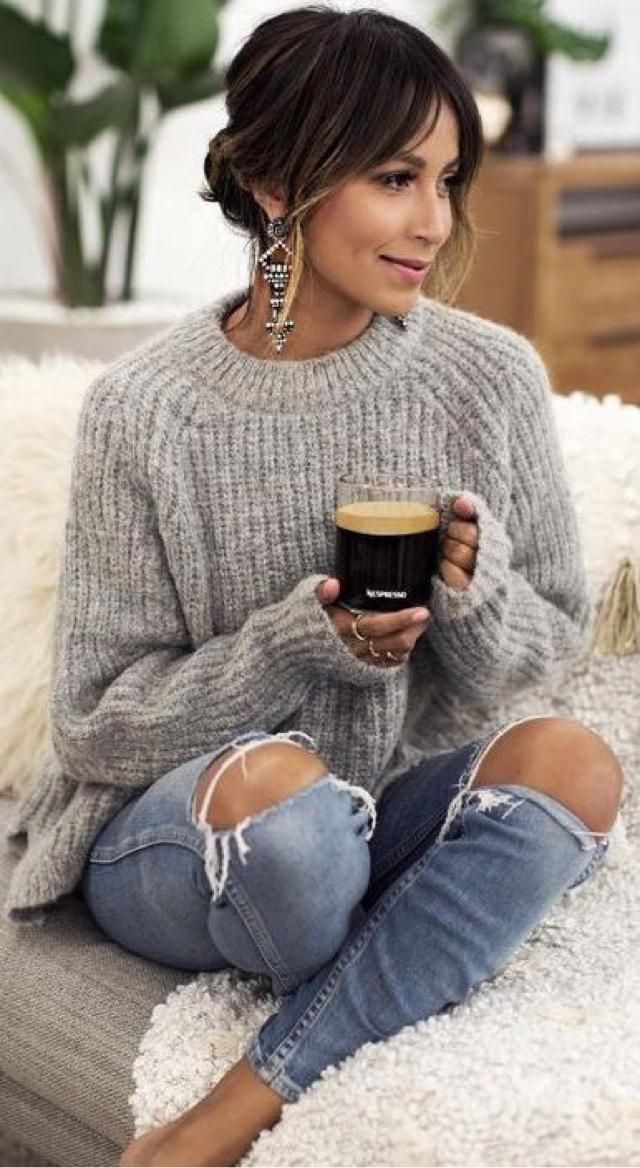 Sweater and Coffee