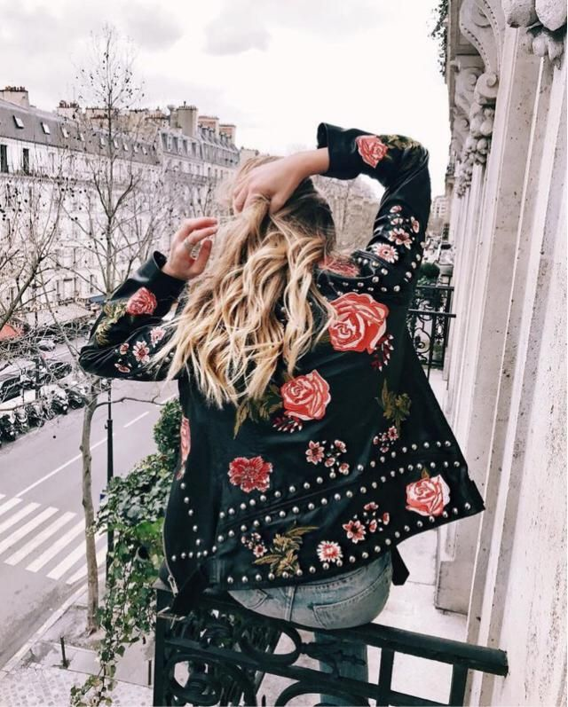 Floral embroidery print still trending or not?