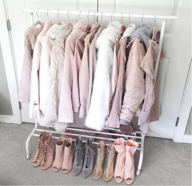 All the pink jackets