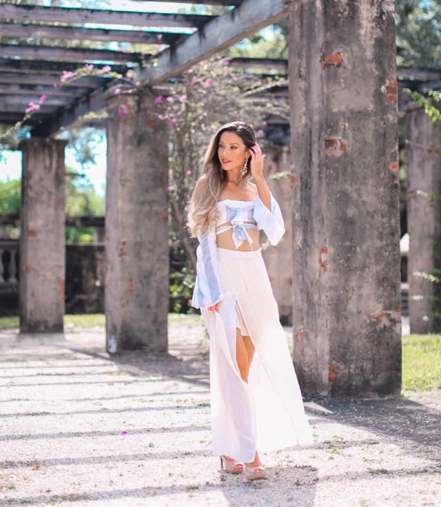 Crop top from Zaful