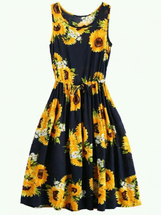 Sunflower dress, do you like it?