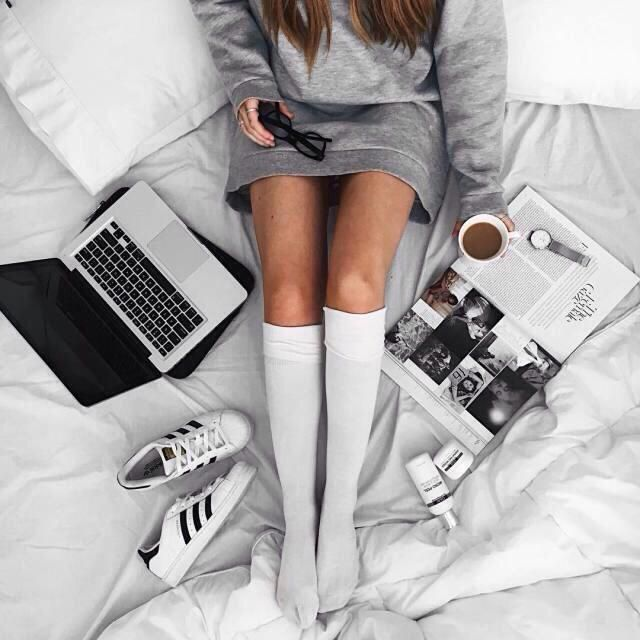 Fav routine, check laptop, check phone and nice hot chocolate, yay or nay?