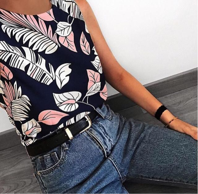 love the print of this top x