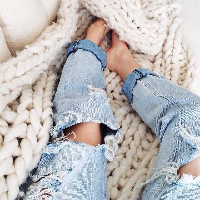 Ripped jeans, yay or nay?