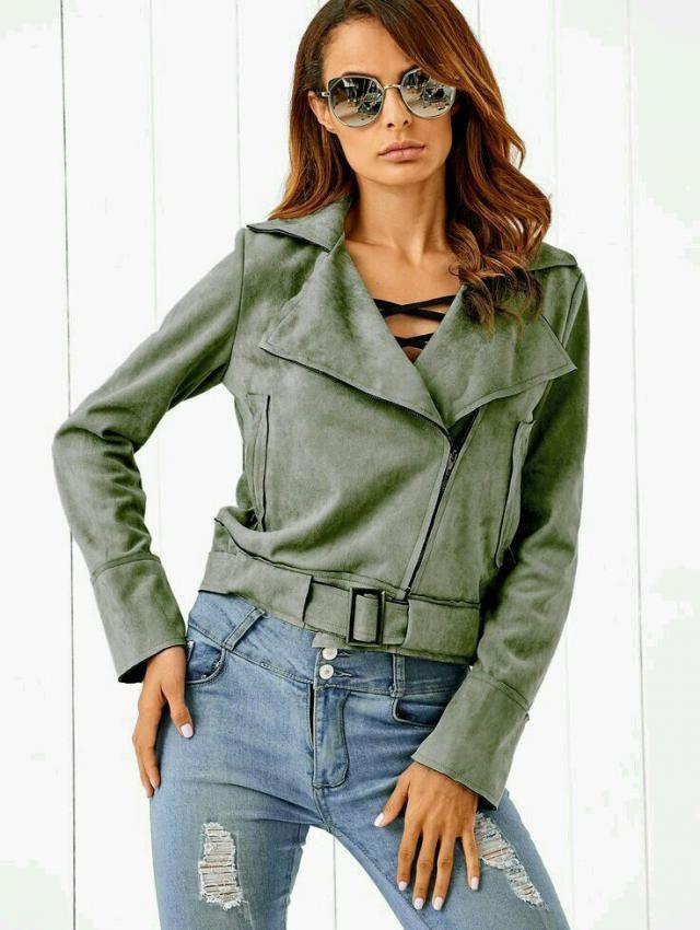 I like short jackets.