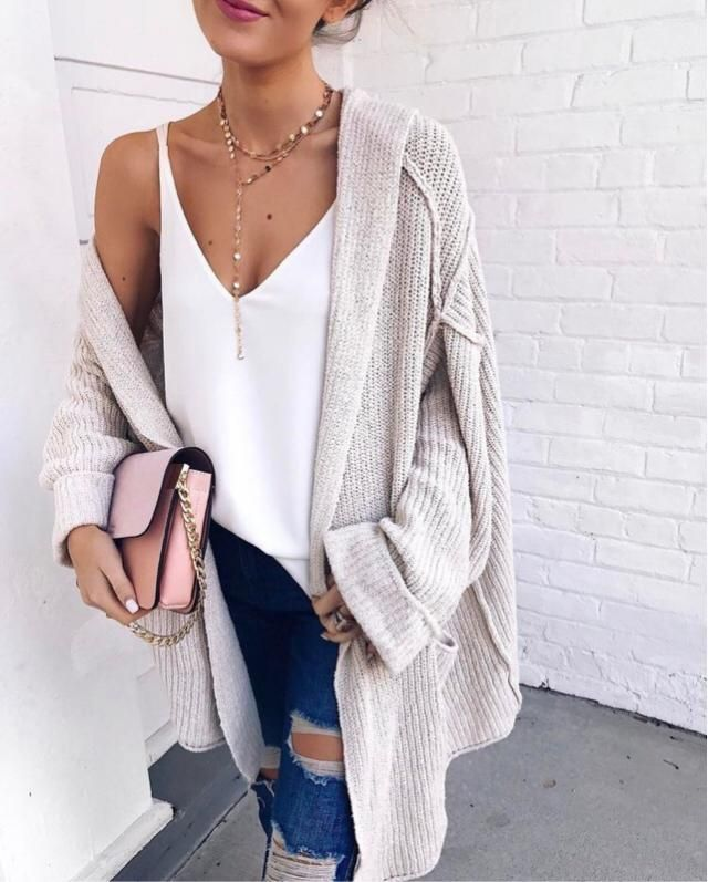 Lovely cozy outfit for autumn's evenings:)
