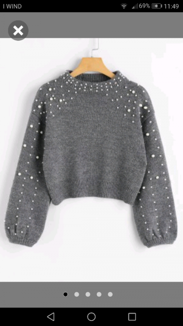 i love this sweater because it's so comfu and cute