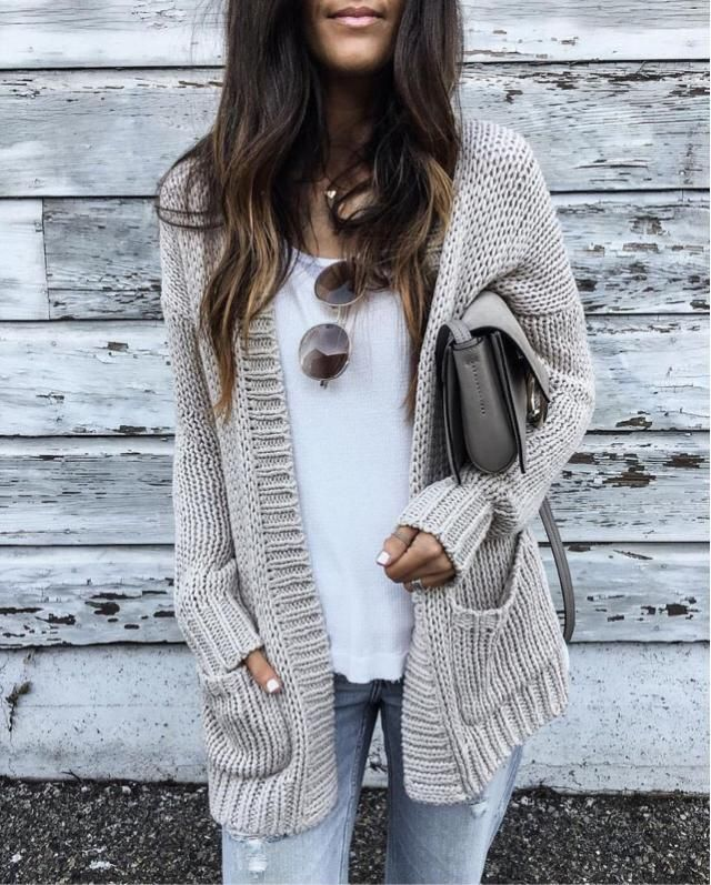 Every one need to have nice cardigan in autumn. Do you have it?