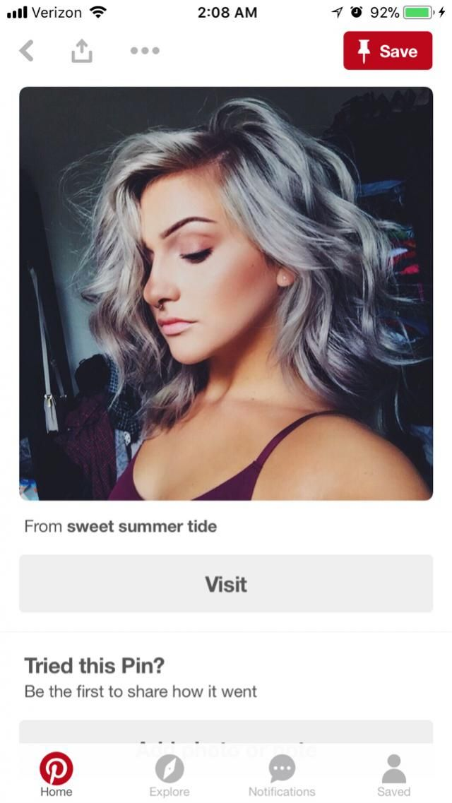 I'm honestly thinking about dying my hair this color