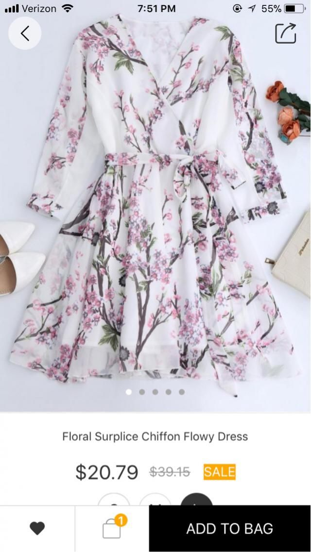 This dress is probably the most beautiful dress with long sleeves that I have ever seen