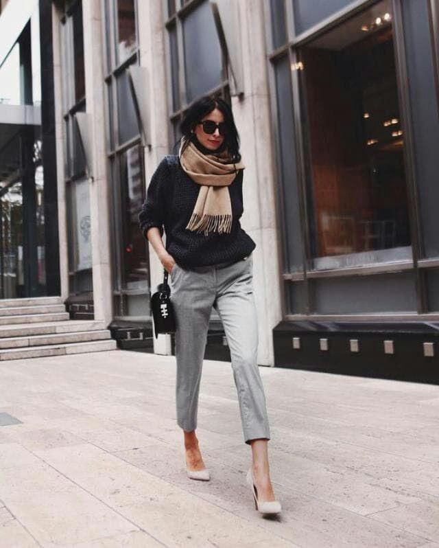 Business girl with style.