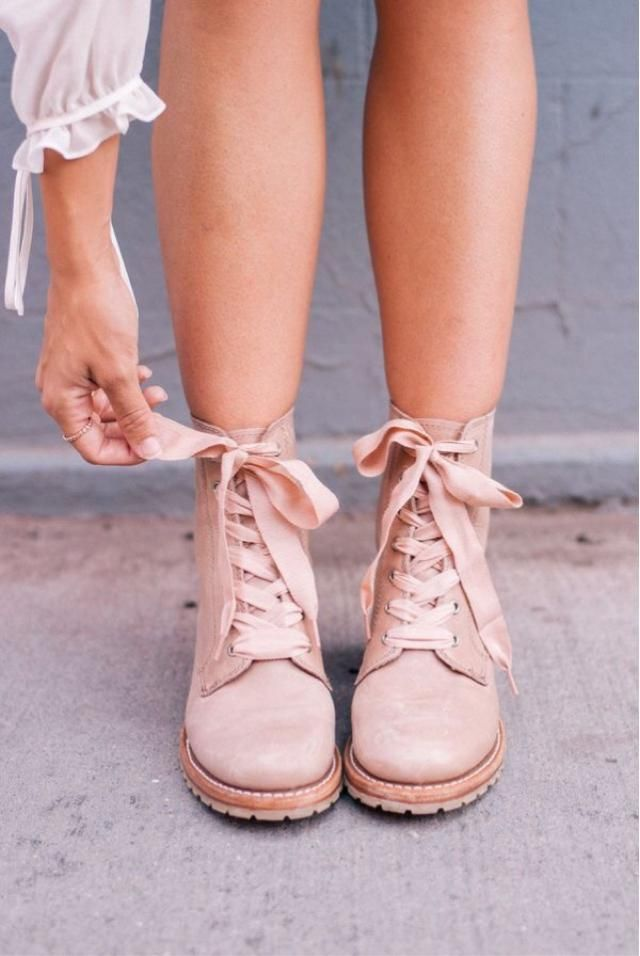 Dusty Rose Boots